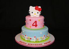 Pink Hello Kitty cake by cakesbyelisa, via Flickr