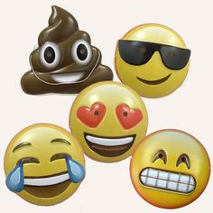 Emoji Masks Adult Halloween costumes or party favors funny wedding party