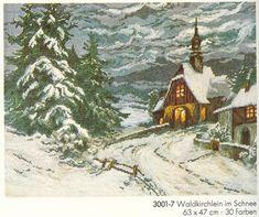 (100) Gallery.ru / Фото #1 - Waldkirchlein im Schnee - penata