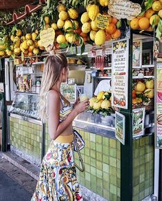 Not visiting Capri without some fresh Limoncello, wearing @dolcegabbana for…