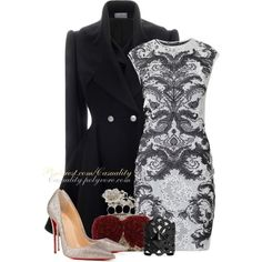 """""""McQueen & Louboutin Couture"""""""