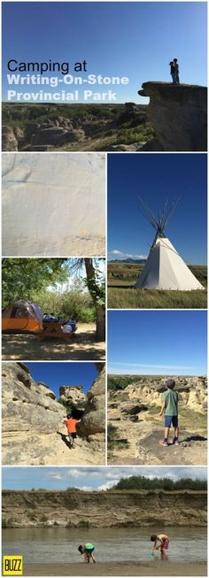 Camping at Writing-On-Stone provincial Park is often picked as the best in Alberta. It's easy to see why, the campground is small enough, entertaining enough Alberta Travel, Backpacking, Camping, Alberta Canada, Places Ive Been, Things To Do, Popular, Adventure