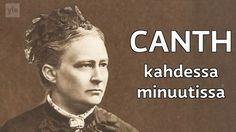 Minna Canth oli suomalainen kirjailija ja yhteiskunnallinen vaikuttaja. Canth taisteli tasa-arvon ja oikeudenmukaisuuden puolesta. Finnish Independence Day, Finnish Language, Hemingway Quotes, Captain America Civil War, Entry Level, Ancient History, Finland, Feminism, Youtube