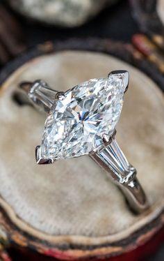 2 Carat Marquise Diamond Engagement Ring 2.01ct E/VS2 GIA. Sku EJ19209. Vintage Engagement Rings, Diamond Engagement Rings, Expensive Jewelry, Marquise Diamond, 2 Carat, Diamond Cuts, Heart Ring, Diamond Earrings, Wedding Rings