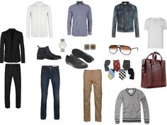 mens capsule wardrobe closet - Google Search