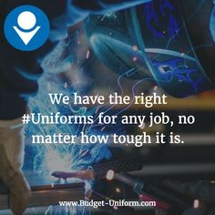 We have the right #Uniforms for any job, no matter how tough it is.