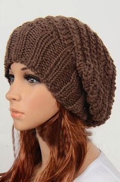 Slouchy hat i want this hat
