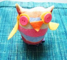 How to make a sock owl (no sewing needed!) | BabyCentre Blog