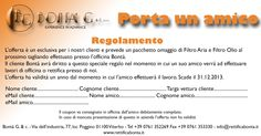 """Sviluppo comunicazione e Marketing Arca Bontà - Campagna """"Porta un amico"""" 2013 vecchi clienti"""