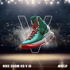 2b8a8f42594a Nike KD V iD Nike Basketball Shoes