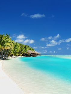 The Cook Islands - magical :) White sand, blue lagoons, Tropical perfection. Take me there!