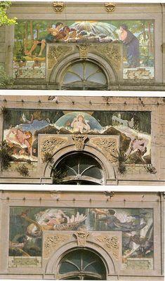 Arte Liberty in Italia - Architettura-Livorno