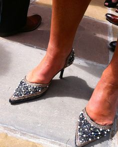 Party shoes at Caer Llan, wedding venue near Monmouth, Wales