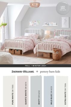 Tap this pin to explore the entire @potterybarnkids Fall/Winter 2021 paint palette from Sherwin-Williams featuring colors expertly curated to suit kids and parents alike. Tap this pin to shop online then get that DIY painting project started. #sherwinwilliams #DIY #decor #kidsbedroom #lovemypbk #pbkids #potterybarnkids #homedecor #painting #colorinspiration #renovation #paint Pottery Barn Colors, Pottery Barn Kids, Inspiration For Kids, Color Inspiration, Pastel Paint Colors, Kids Room Paint, Kids Rooms, Painting For Kids, Diy Painting
