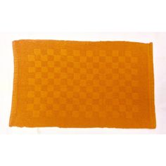 Reversible Double Ruila Cotton Mat - Orange (50cm x 80cm) - Mode Alive - Home Decor Heaven