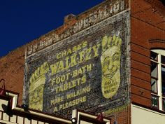 Walk-Ezy ghost sign! Cripple Creek, CO... photo by Jim Good via flickr