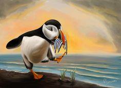 make a beautiful illustration of any animal by nowhereman78