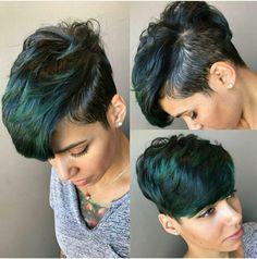 63 Flattering Bob Hairstyles on Older Women - Hairstyles Trends Dope Hairstyles, My Hairstyle, Pixie Hairstyles, Short Black Hairstyles, Pixie Haircuts, 2015 Hairstyles, Medium Hairstyles, Formal Hairstyles, Celebrity Hairstyles