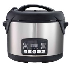 Big Boss 1300-Watt Stainless Steel Oval Pressure Cooker, 8.5-Quart -- More info could be found at the image url.