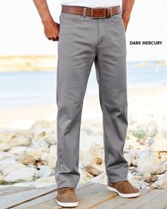 Stretch Travel Jeans at Cotton Traders