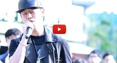 [★VIDEO] B.A.P's Daehyun delights fans with surprise busking on streets