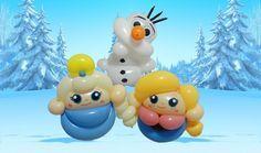 Mini Frozen balloon bracelets - instructions!