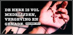 Laat Jezus je reinigen van al je zonden. Leef je geloof: Er is genade en vergeving voor jou!