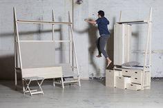 Yatno le mobilier pour espace réduit par Joey Dogge