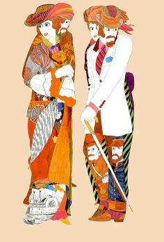 【画像 6/6】60年代イラストレーター伊坂芳太良展開催 代表作エドワーズのポスターも | Fashionsnap.com