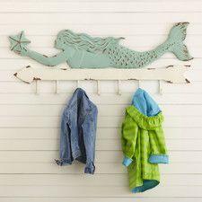 Mermaid Coat Rack by Birch Lane Kids