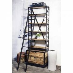 Industriële kast | Home | Pinterest | Industrial, Industrial ...