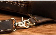 Vintage Leather Sling Backpack for Men Cow Leather, Vintage Leather, Vintage Men, Leather Bag, Camera Backpack, Sling Backpack, Sport Casual, Crossbody Shoulder Bag, Messenger Bag
