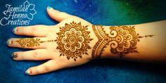 Mandala Cuff and ring henna www.JamilahHennaCreations.com