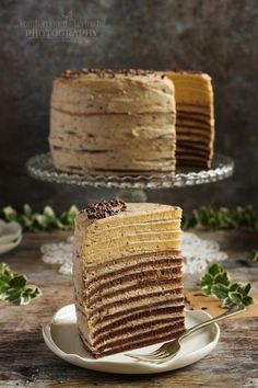 ...konyhán innen - kerten túl...: Gesztenyés palacsintatorta Vanilla Cake, Tiramisu, Whole Food Recipes, Smoothie, Sweets, Ethnic Recipes, Kitchens, Gummi Candy, Candy