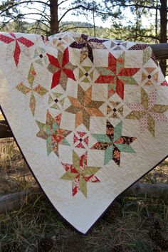 Fig Tree Quilts Tapestry  by Piecesofpine