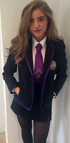 School Uniform Outfits, Cute School Uniforms, Girls Uniforms, Private School Uniforms, Private School Girl, Preppy School Girl, School Girl Dress, Estilo Gossip Girl, Girl Outfits