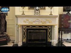 House Restoration Master Living Booking Room Decoration Stone Fire place Mantel Kamin Boutique - YouTube Marble Fireplace Mantel, Marble Fireplaces, Fireplace Mantels, Master, Restoration, Room Decor, Boutique, House, Home