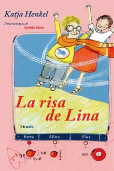 """""""La risa de Lina"""" de Katja Henkel.  Lina es nueva en clase y necesita ayuda, no consigue hacer amigos y cada día le cuesta más sonreír. Para remediarlo, Gustav VII, un entrañable ángel gruñón, y su recién nombrada compañera, Agathe, se dirigen rápidamente hacia la Tierra con la difícil misión de enseñar de nuevo a reír a Lina; para ello contarán con la ayuda de Fritz, que también es nuevo en el colegio. Juntos emprenderán un fascinante viaje en el tiempo…  DE 9 A 11 AÑOS"""