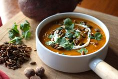 Spiced Kumara and Ginger Soup