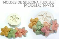 molde de silicona numer 15 flor estrella