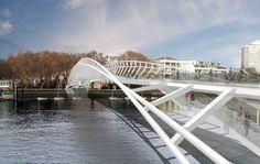 modern pedestrian bridge - Google Search