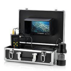 1/3 Inch SONY CCD Underwater Fishing Camera - 360 Degree View, Remote Control, 7 Inch LCD Monitor, 14x White Lights 1/3 Inch SONY CCD Underwater Camera http://www.amazon.es/dp/B00KUM68NQ/ref=cm_sw_r_pi_dp_rcdjvb0YTBSGR