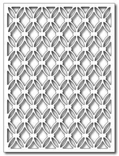 *Pre-order* Frantic Stamper - Precision Dies - Tufted Cushion Card Panel,$25.99