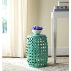 Safavieh Lacey Garden Stool, Multiple Colors - Walmart.com