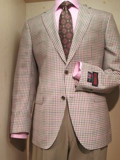 David's V Series Sport Coat & Tie, shirt by Brandolini. www.davelleclothiers.com
