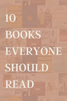 Everyone can benefit from reading a good book. Here are my top 10 book recommendations I think everyone should read.