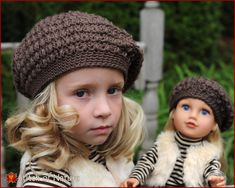 91d2417de51 Crochet PATTERN - The Collins Vintage Beret