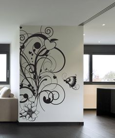 Vinyl Wall Decal Sticker Nature Love #1023 | Stickerbrand wall art decals, wall graphics and wall murals.