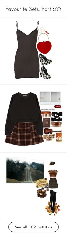 """""""Favourite Sets: Part 6❣️"""" by moon-crystal-wolff ❤ liked on Polyvore featuring Jen Kao, Alice + Olivia, Kiel Mead, Pernille Corydon, Reichenbach, Royce Leather, Mason Pearson, Vita Liberata, Marc Jacobs and Improvements"""