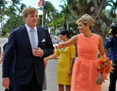 Visit of the Dutch Royals, King Willem Alexander and Queen Maxima to Aruba, 20.11.13